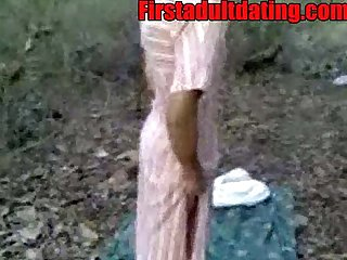 Indian amateur desi sex in public forest